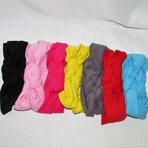 Other - Lot of 7 New Sailor Knot Braided Headbands